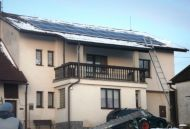 Zdebořice, 4,95 kWp, 22 x Mage 225 Wp